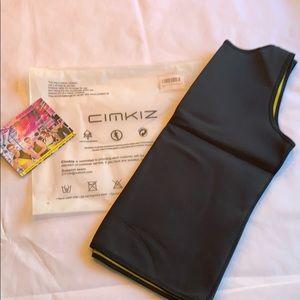 Cimkiz women's neoprene sweat vest Large